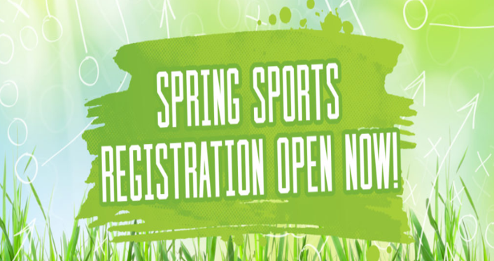 REGISTRATION IS OPEN forBaseball, Track and Field, Girls Tennis, Girls Golf and Girls Soccer