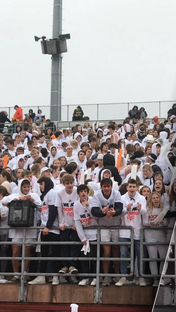 Rams Student Section