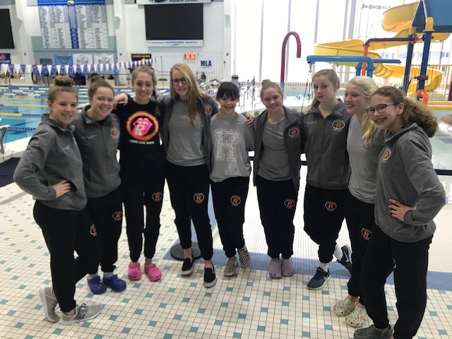 Girls Swim and Dive Team Competes this Weekend in State Finals!
