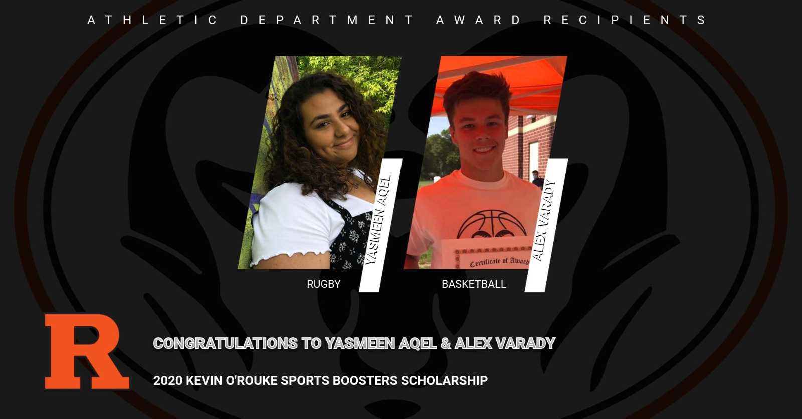 2020 Kevin O'Rouke Sports Boosters Scholarship