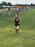 Jude Parks Takes First at XC dual!