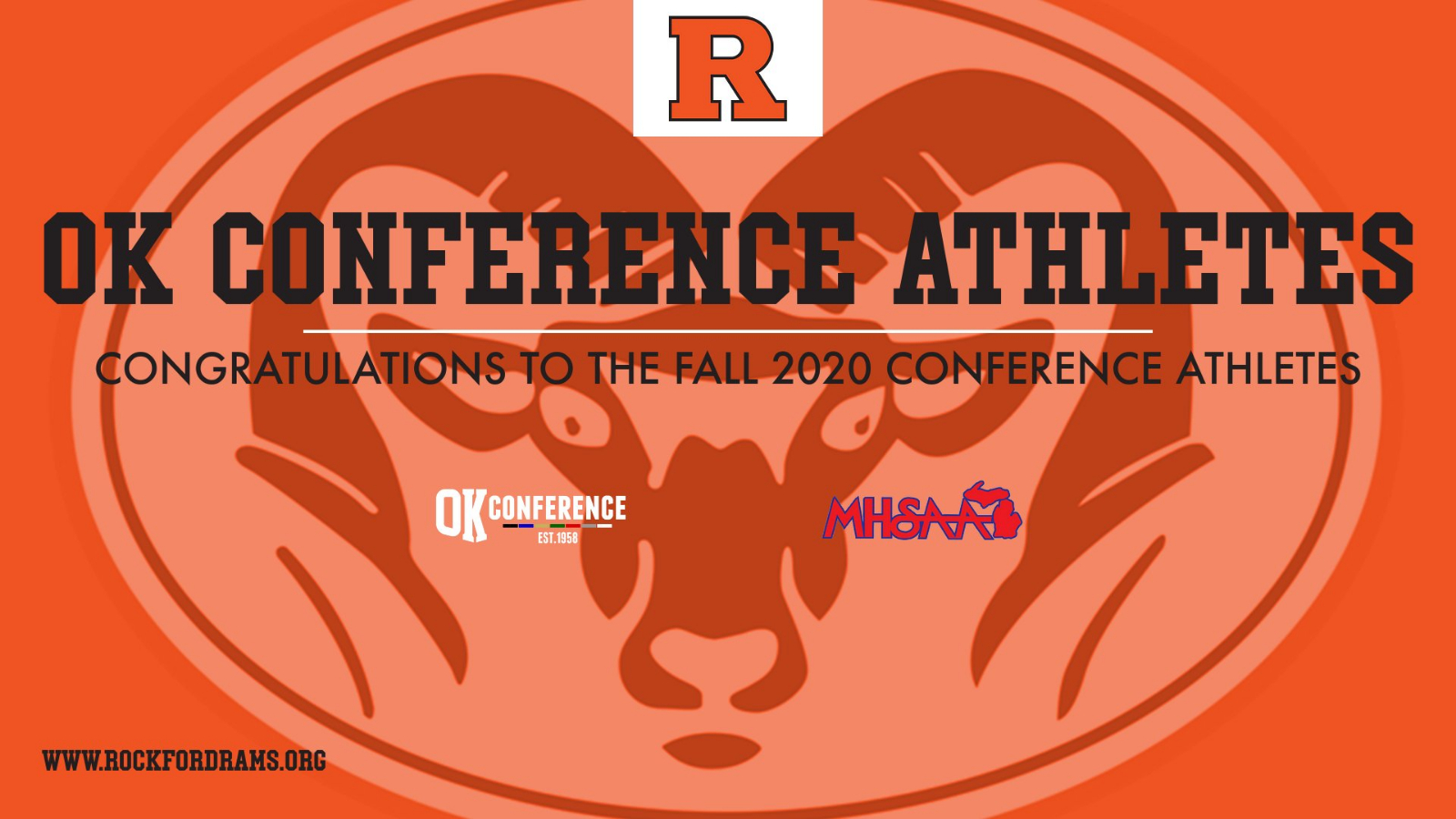 All Conference Athletes – Fall 2020