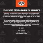 Statement from Director of Athletics
