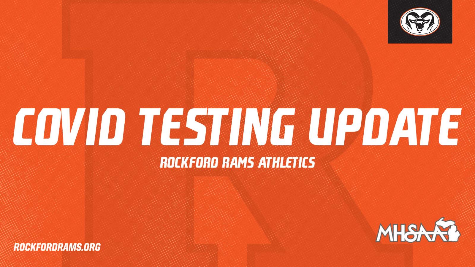 COVID Testing Update