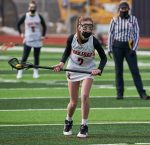 Girls JV lacrosse loses a tough battle with East Grand Rapids 9-8