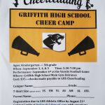 Cheer Camp for Sept. 3rd, 4th, & 5th. Performing on the 6th Football Game.