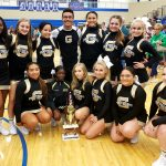 Coed Varsity Competitive Cheer finishes 1st place at Lake Central Invitational