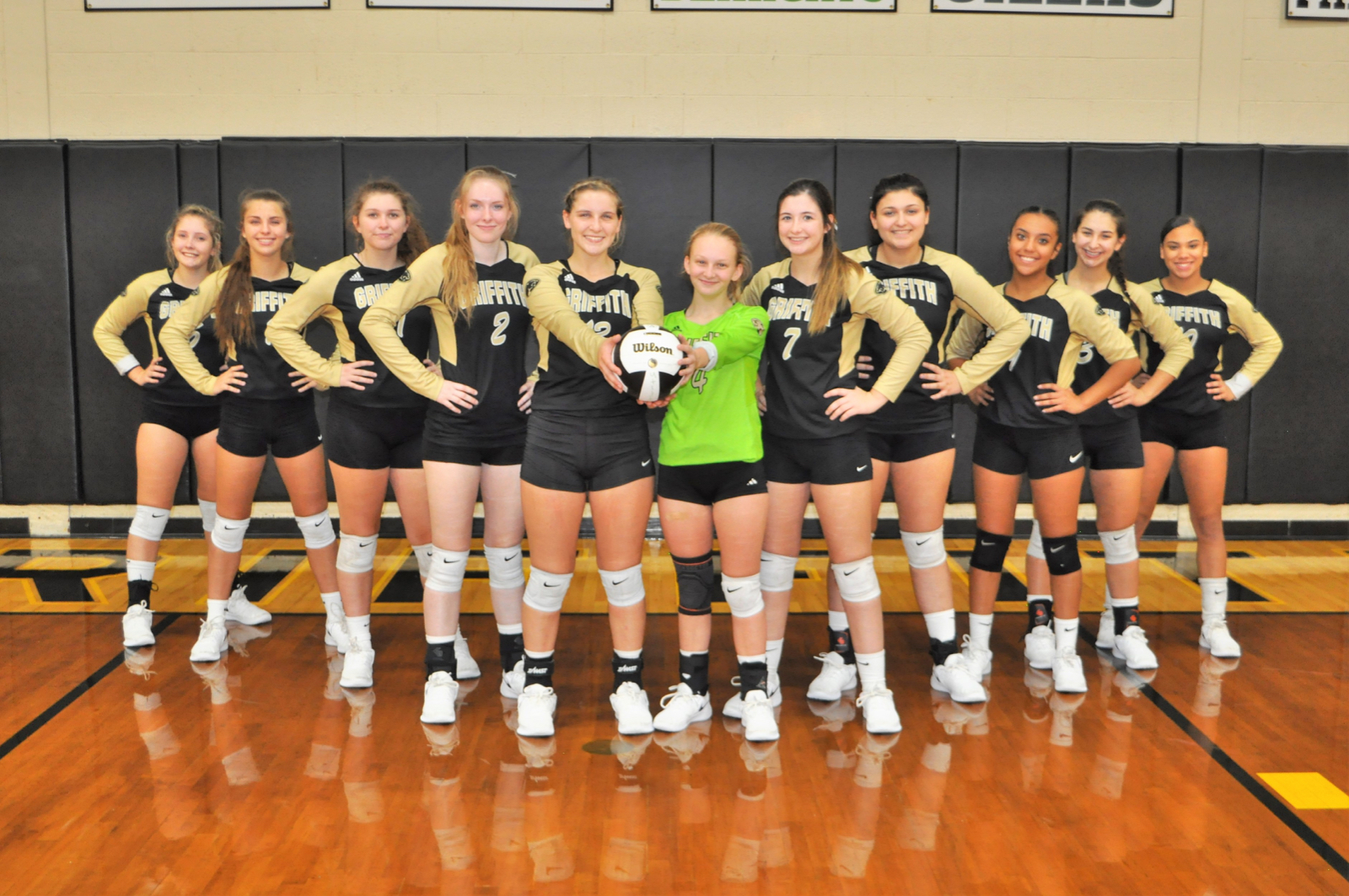 Congratulations to our Lady Panthers! Playing in the Sectional Finals tonight at 7 PM . Griffith vs. Gavit! Let's Go Lady Panthers!