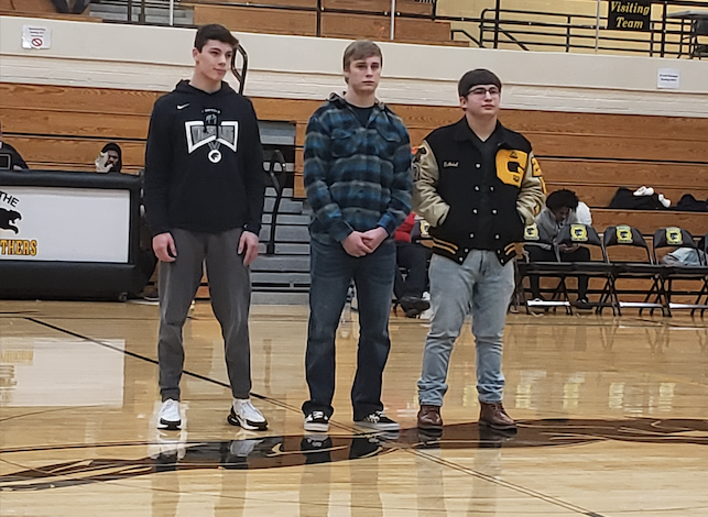 Good Luck Gentlemen at Wrestling Semi-State Tomorrow @ East Chicago ! Gabe! Connor!Cole! Let's Go! It's great to be Panther!