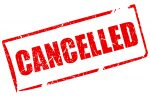 Today, 1/26 – ALL ACTIVITIES CANCELLED