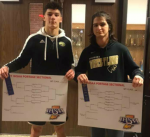 Congratulations to Lucas Metz and Connor Cervantes! SECTIONAL CHAMPIONS!