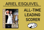Congratulations Ariel Esquivel on Becoming Griffith's GBB All-Time Leading Scorer!