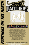 PANTHERS ON THE MARCH! DONATE TODAY! CLICK FOR MORE INFORMATION!