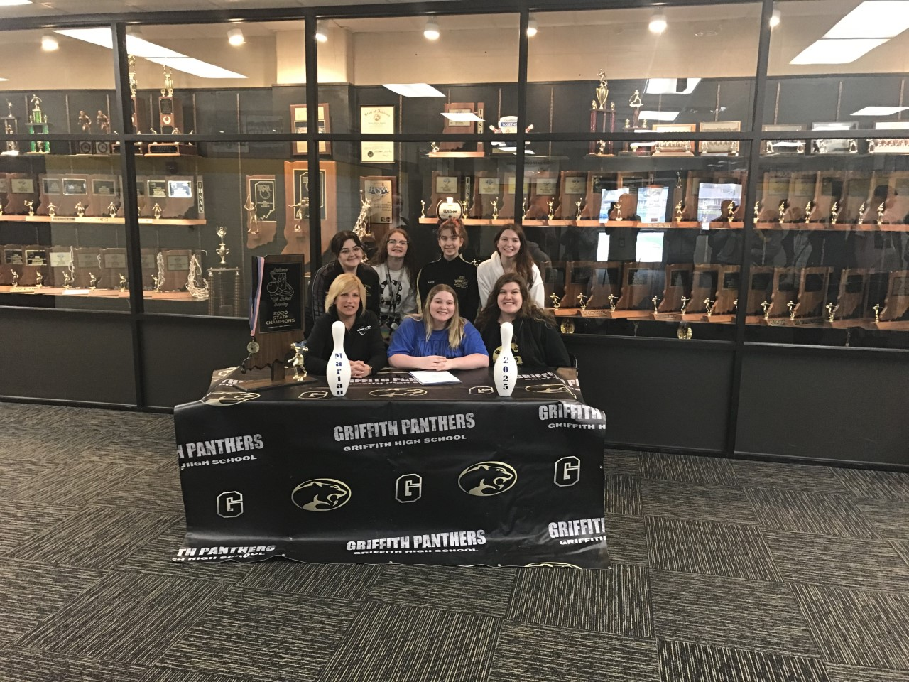 Congratulation Elisabeth Lawson signing with Marian University for Bowling!
