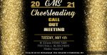 MS CHEER CALL-OUTS FOR 2021-2022