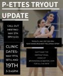 Pantherettes Call-out Meeting and Try-outs Information !