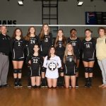 Girls Varsity Volleyball beats Mullins 3 – 0