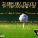 "Athletic Booster Club ""Trojan Open"" Golf Tournament"