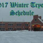Winter Tryout Schedule