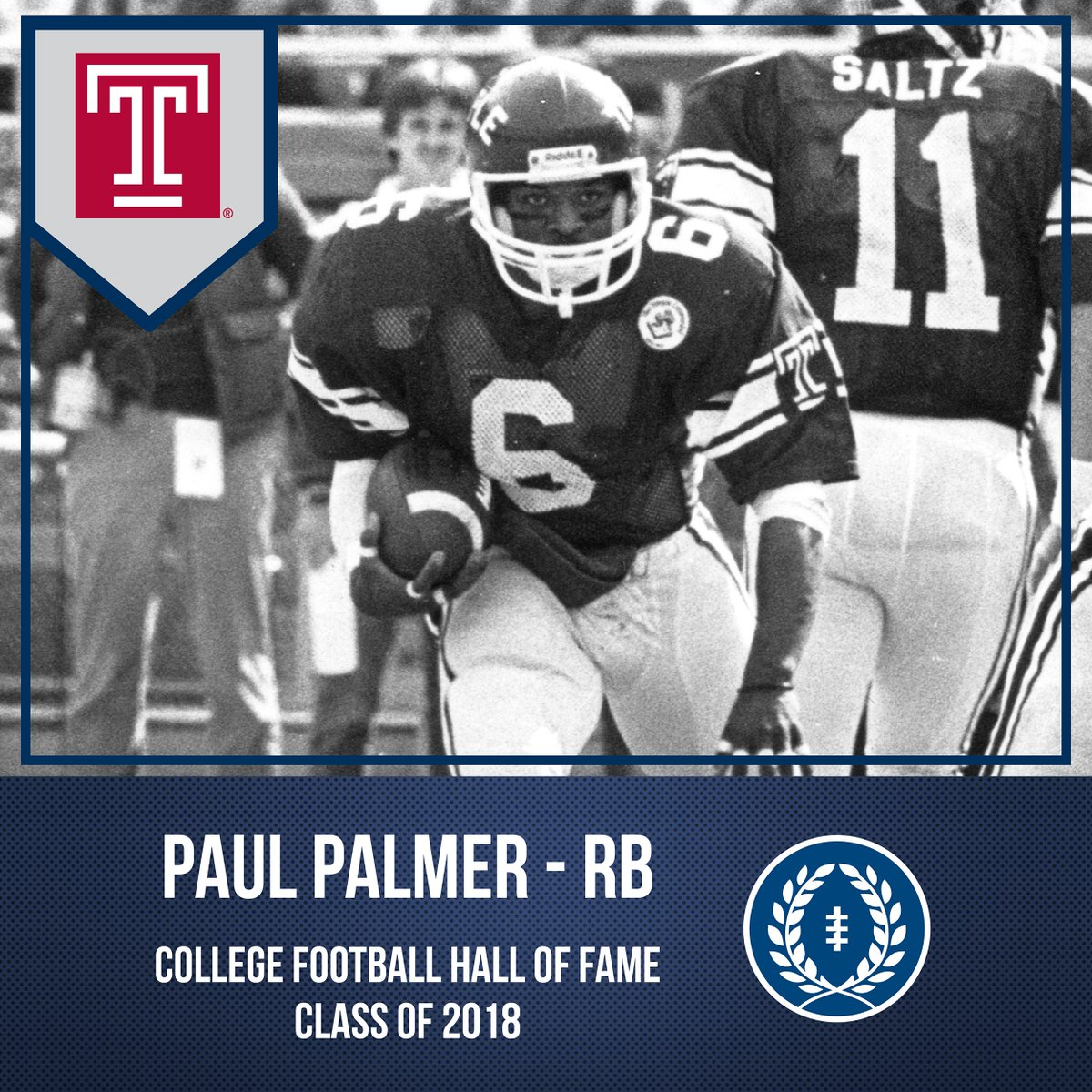 Alumni Paul Palmer to Enter College Football Hall of Fame