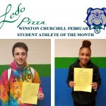 February Student Athlete's of the Month