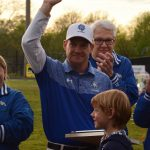 Lacrosse Honors Coach Fritz's 25 Years.