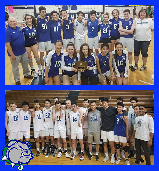 Big Night For Volleyball Teams!