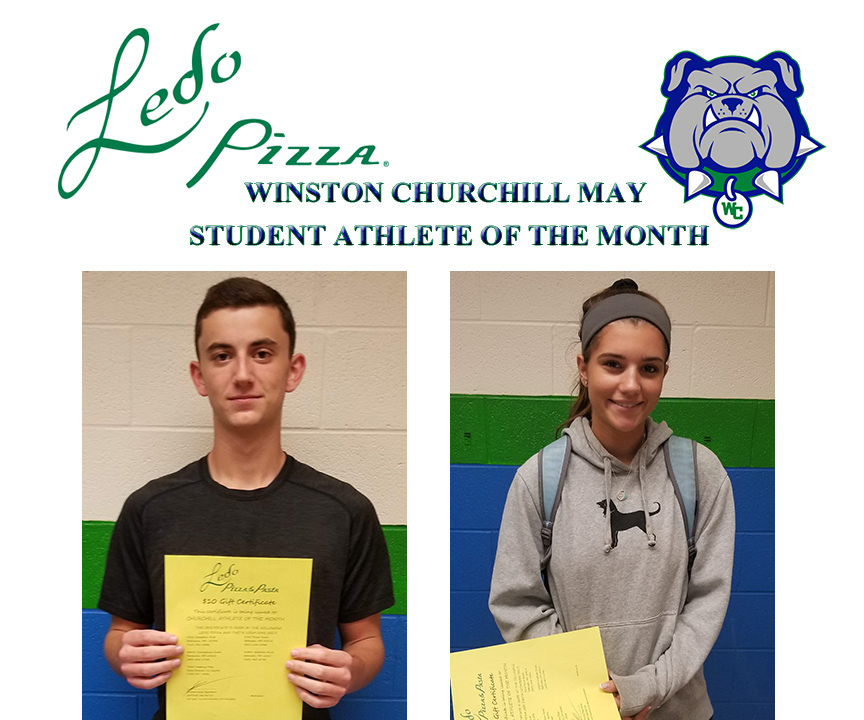 May Student Athlete's of the Month Winners