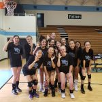 Girls JV Volleyball defeated Whitman 2-1