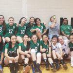 Girls JV Volleyball defeats WJ 2-1