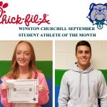 September Student Athlete's of the Month Named!