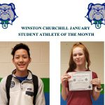 January Student Athlete's of the Month