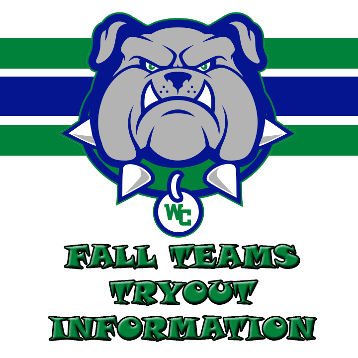 Fall Sports Teams Tryout Information