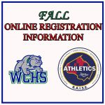 Fall Online Registration Information