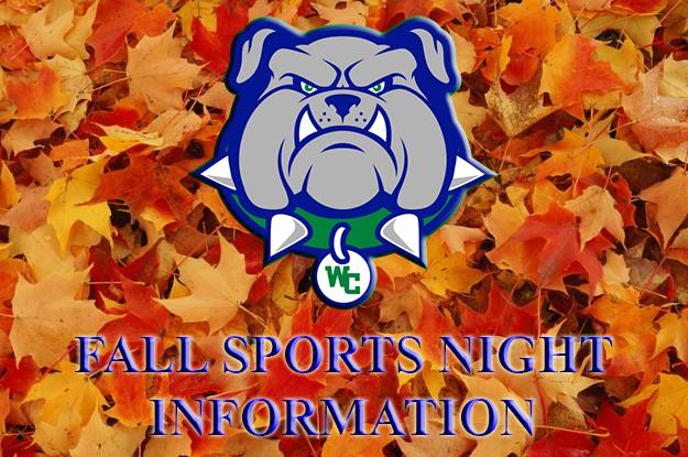 Fall Sports Night