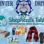 Winter Drive for Shepherd's Table