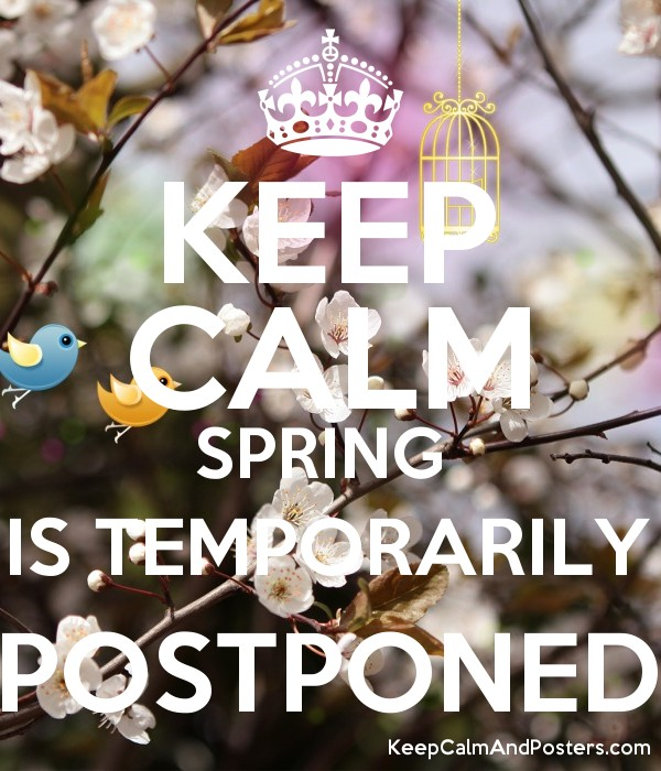 Spring Season Postponement