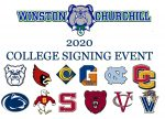 2020 WCHS College Signing Event