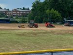 Field Renovations Underway
