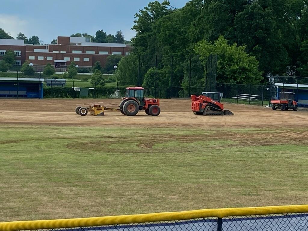 Field Renovations Underway