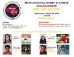 MCPS Women in Sports Series