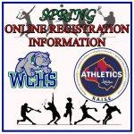 Spring Sports Registration Information