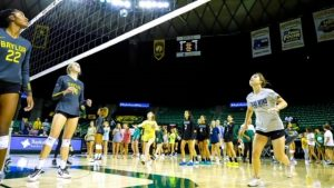 Baylor University Volleyball Clinic