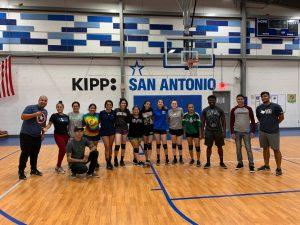UPREP Varsity Volleyball vs KIPP PE Coaches
