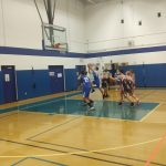 Varsity A Basketball has an offensive explosion in route of OLL