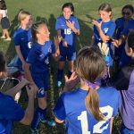 Girls Junior Varsity Soccer falls to Espiritu Santo Catholic School 2 – 0