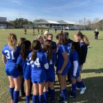 Girls Varsity Soccer falls to Espiritu Santo Catholic School 2 – 1