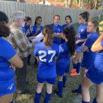 Girls Varsity Soccer falls to Gaurdian Angels Catholic School 2 – 0