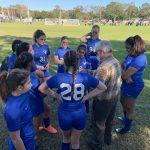 Girls Varsity Soccer beats Espiritu Santo Catholic School 2 – 1