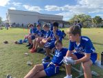 Boys Varsity Flag Football beats Skycrest Christian School 19 – 13
